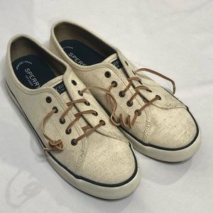 SPERRY TOP SIDER PIER VIEW Sand  SIZE 11M Canvas